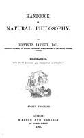 Handbook of Natural Philosophy by Dionysius Lardner PDF