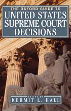 The Oxford Guide to United States Supreme Court Decisions PDF