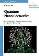 Quantum Nanoelectronics