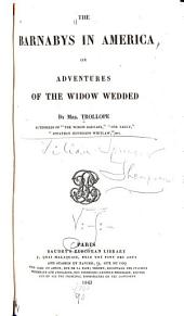 The Barnabys in America, Or Adventures of the Widow Wedded