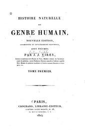 Histoire naturelle du genre humain: Volume1