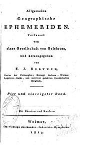 Allgemeine geographische Ephemeriden: Band 44