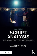 Script Analysis for Actors  Directors  and Designers PDF