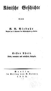 Römische Geschichte: Band 1