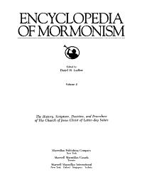 Encyclopedia of Mormonism