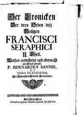 Der Cronicken der drey Orden dess heiligen Francisci Seraphici II. Theil