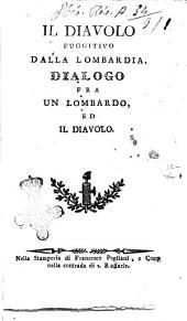 Il diavolo fuggitivo dalla Lombardia. Dialogo fra un lombardo ed il diavolo