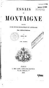 Étude sur Montaigne