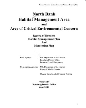 North Bank Habitat Management Area and Area of Critical Environmental Concern