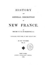 History and General Description of New France