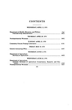 Agriculture  Rural Development  and Related Agencies Appropriations for Fiscal Year 1979 PDF