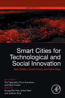 Smart Cities for Technological and Social Innovation PDF