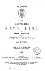 The Mercantile navy list  1848  4 issues   49  2 issues   50 53 57 61 64 71 80 81 92 1939 PDF