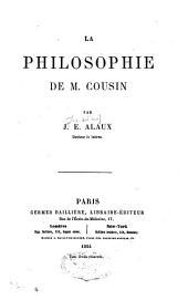 La philosophie de M. Cousin