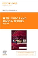 Muscle and Sensory Testing   E Book PDF