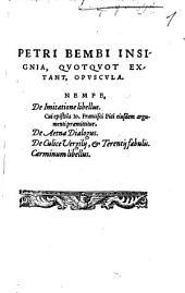 Insignia, quotquot extant opuscula De imitatione Libellus