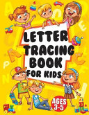 Letter Tracing Books for Kids Ages 3 5