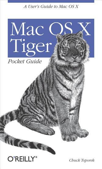 Mac OS X Tiger Pocket Guide PDF