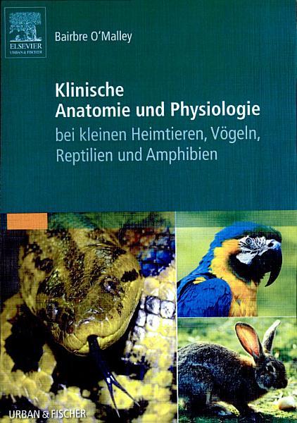 Klinische Anatomie und Physiologie bei kleinen Heimtieren  V  geln  Reptilien und Amphibien PDF