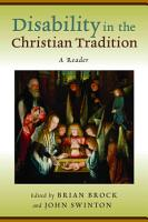 Disability in the Christian Tradition PDF