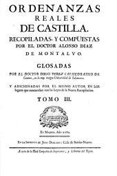 Ordenanzas Reales de Castilla: Volume 3
