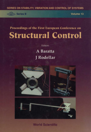 Structural Control   Proceedings Of The First European Conference