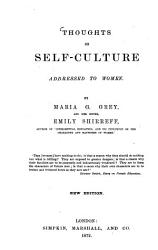 Thoughts on Self culture Addressed to Women PDF