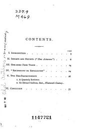The Reciprocity Craze: A Tract for the Times