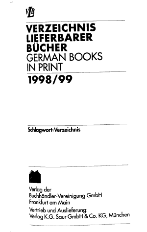 German books in print PDF
