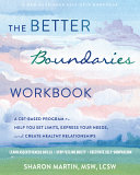 The Better Boundaries Workbook PDF
