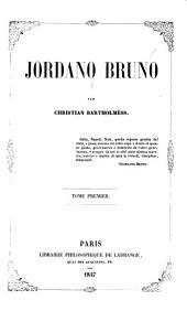 Jordano Bruno: Volume1