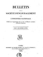Bulletin de la Société d'encouragement pour l'industrie nationale: Volume12