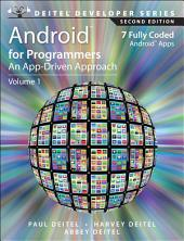 Android for Programmers: An App-Driven Approach, Edition 2