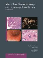 Mayo Clinic Gastroenterology and Hepatology Board Review PDF