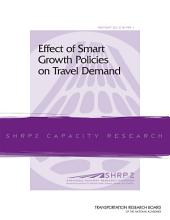 Effect of Smart Growth Policies on Travel Demand