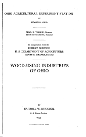 Wood-using industries of Ohio