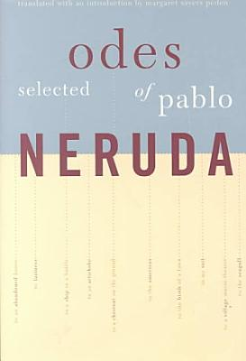 Selected Odes of Pablo Neruda PDF