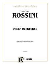 Opera Overtures: Piano Duet (1 Piano, 4 Hands)