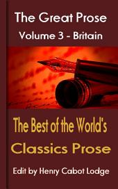 The Best of the World's Classics prose Volume 3: The Great Prose