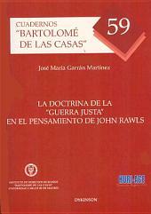 """La doctrina de la """"guerra justa"""" en el pensamiento de John Rawls"""