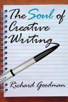 The Soul of Creative Writing PDF