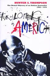Fear And Loathing In America Book PDF