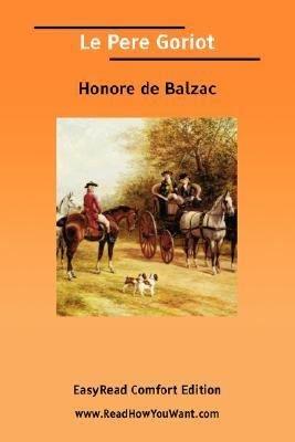 Le Pere Goriot PDF
