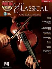 Classical (Songbook): Violin Play-Along, Volume 3