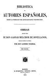Obras publicadas é inéditas de D. Gaspar Melchor de Jovellanos: Volumen 50