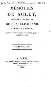 Mémoires de Sully, principal ministre de Henri-le-Grand: Volume2