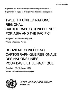 Douzième Conférence Cartographique Régionale Des Nations Unies Pour L'Asie Et Le Pacifique