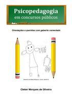 Psicopedagogia Em Concursos P  blicos PDF