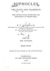 Plays and Fragments: Antigone. 2nd ed. 1891