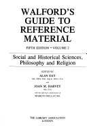 Walford S Guide To Reference Material Social And Historical Sciences Philosophy And Religion Book PDF
